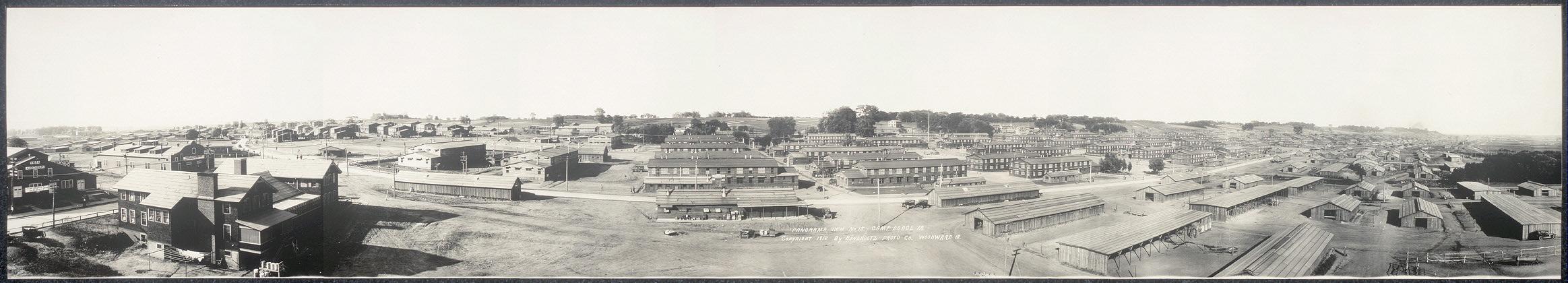 Panorama view no. 15, Camp Dodge, Ia.