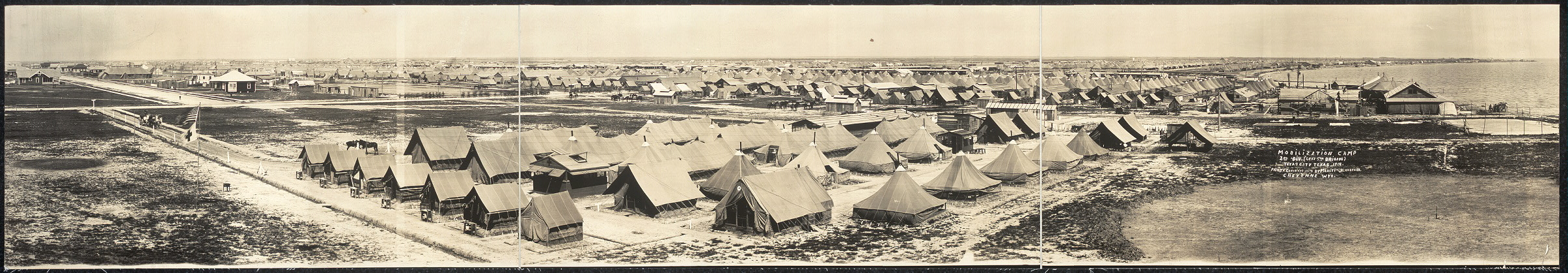 Mobilization Camp, 2nd Div. (less 5th Brigade), Texas City, Texas, 1914