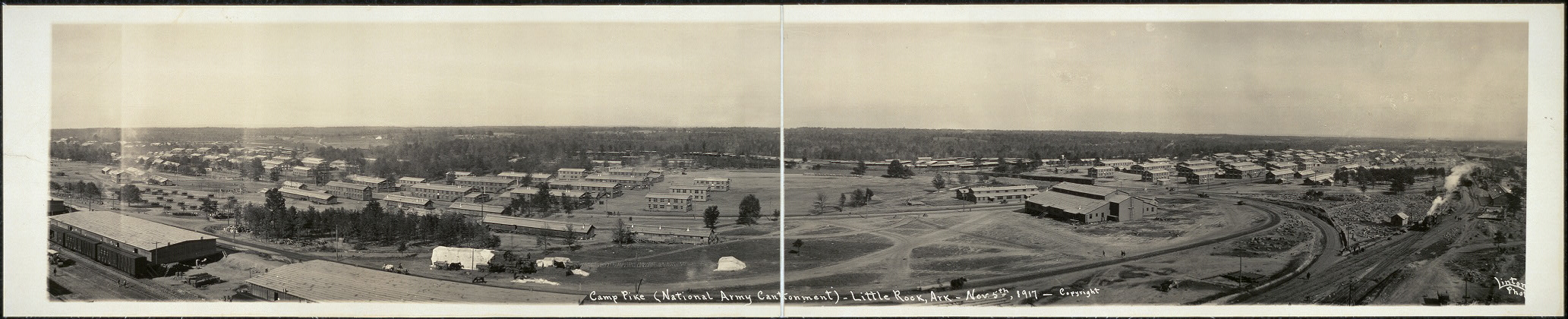 Camp Pike (National Army Cantonment), Little Rock, Ark., Nov. 5th, 1917