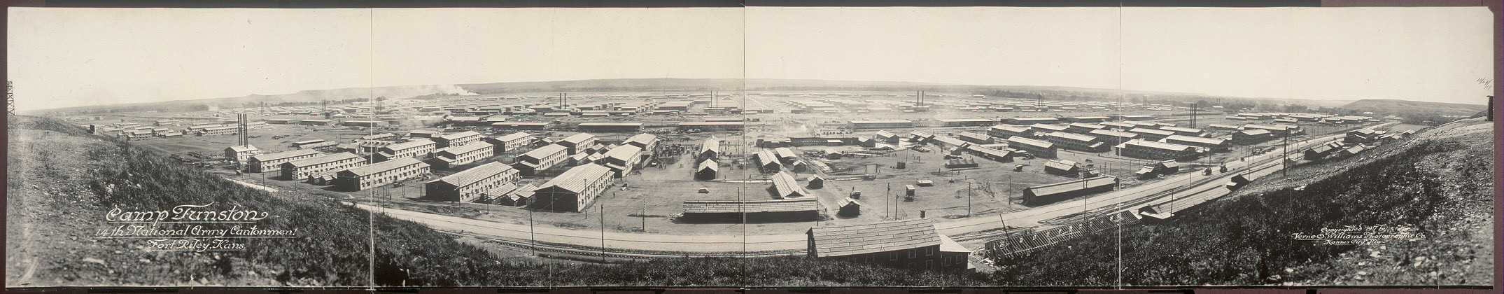 Camp Funston, 14th National Army Cantonment, Fort Riley, Kans.