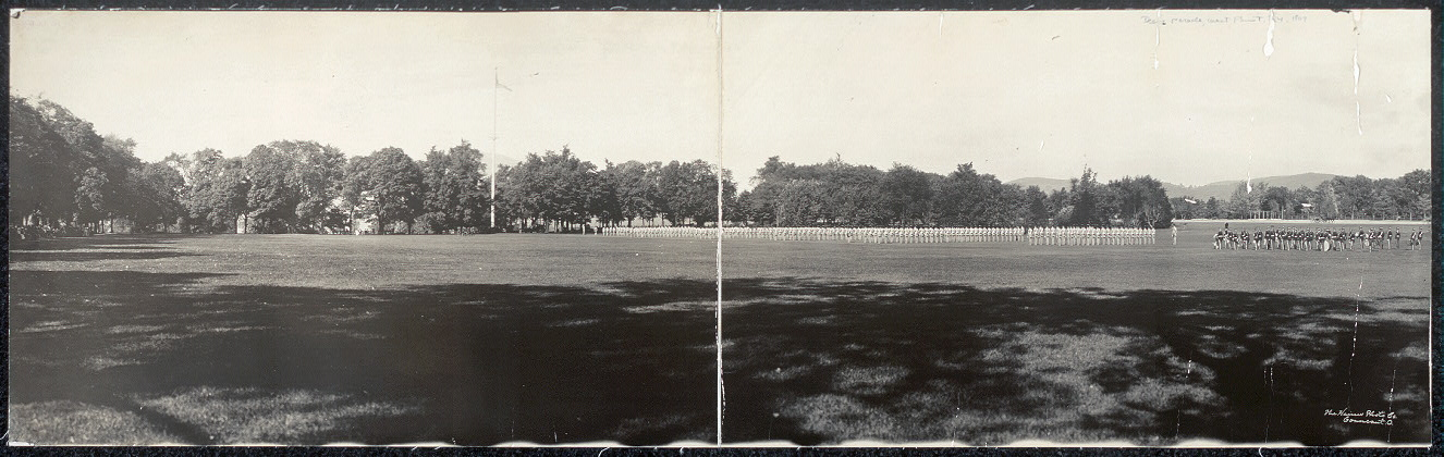 Inspection & dress parade, West Point, N.Y.