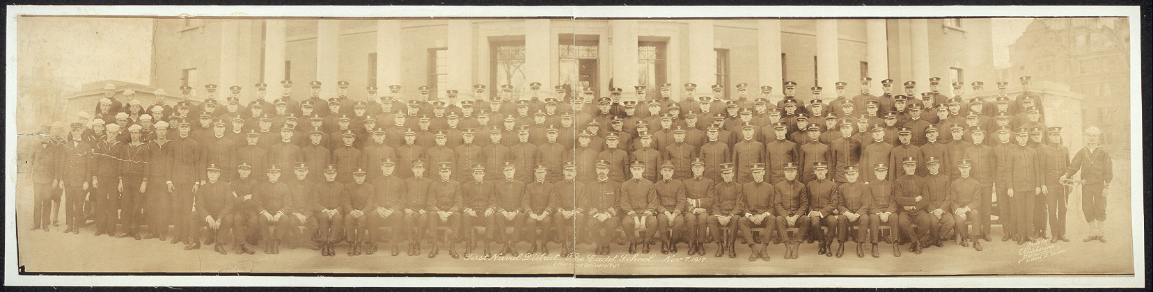 First Naval District, The Cadet School, Nov. 7, 1917 (Harvard University)