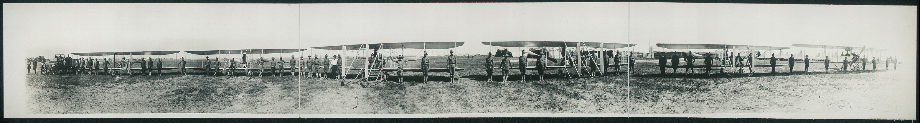 Flying Machines Aero Squadron, Mobilization Camp, Texas City, 1913