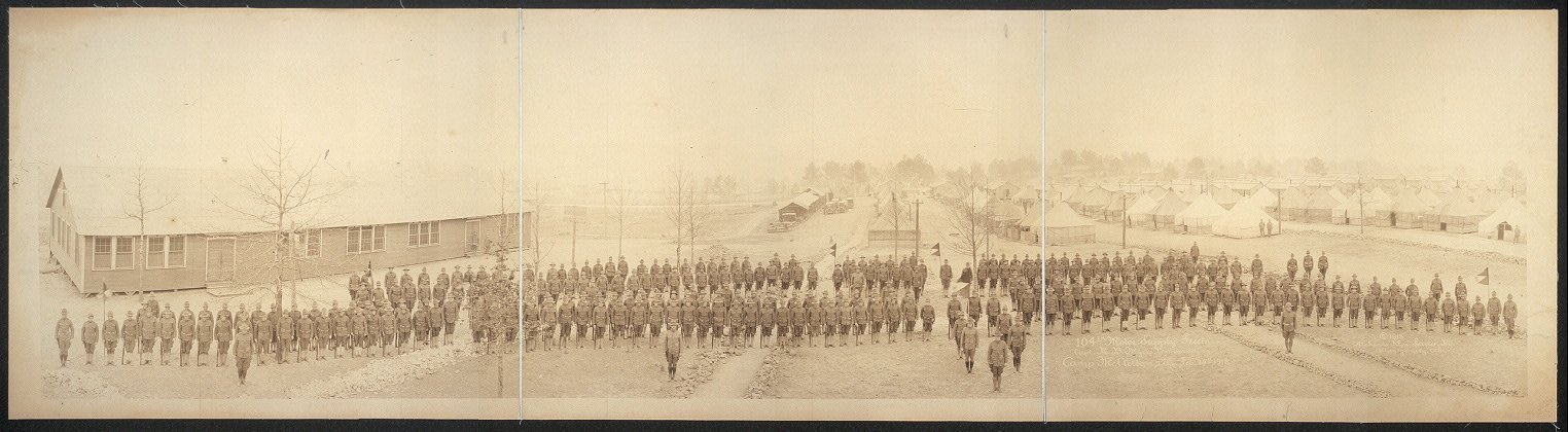 104th Motor Supply Train, Capt. R.B. Myers, commanding, Camp McClellan, Ala., Feb. 27th, 1918