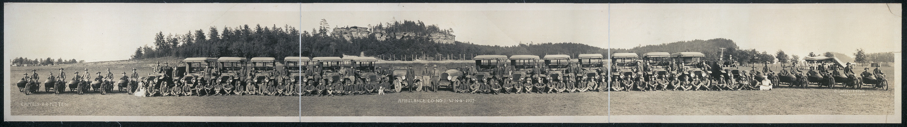 Ambulance Co. no. 1, W.N.G., 1917