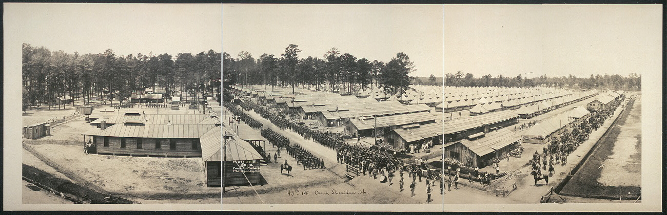 45th Inf., Camp Sheridan, Ala.