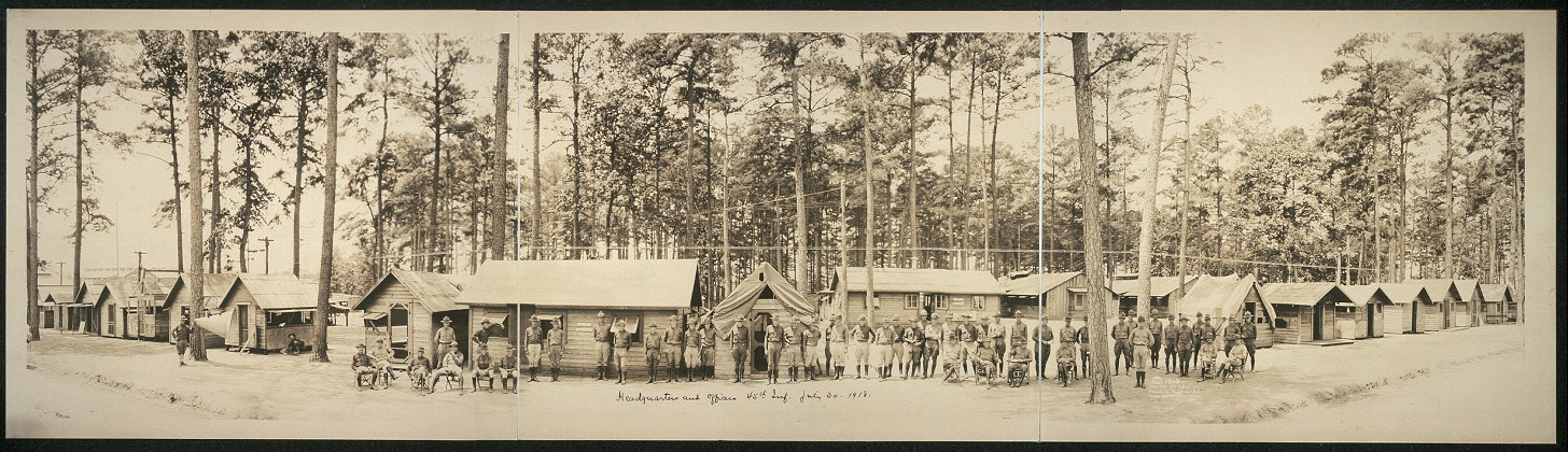 Headquarters and officers, 45th Inf., July 30, 1918