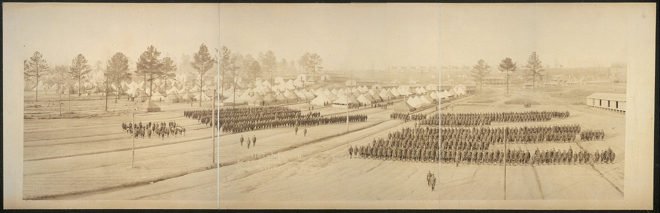 113th Infantry, Col. J. E. Woodward, commanding, Camp McClellan, Ala., Feb. 26th, 1918