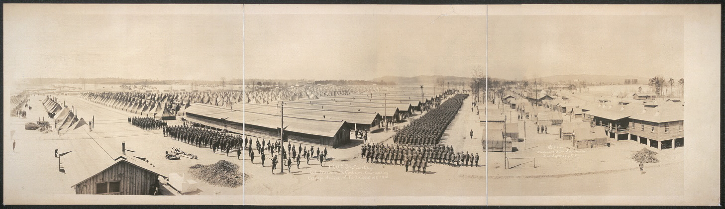 120th Infantry, Col. William B. Cochran, commanding, Camp Sevier, S.C., March 16th, 1918