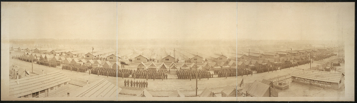 124th Infantry (formerly Second Florida), Col. Walter S. McBroom, commanding, Camp Wheeler, Ga., Jan. 16th, 1918