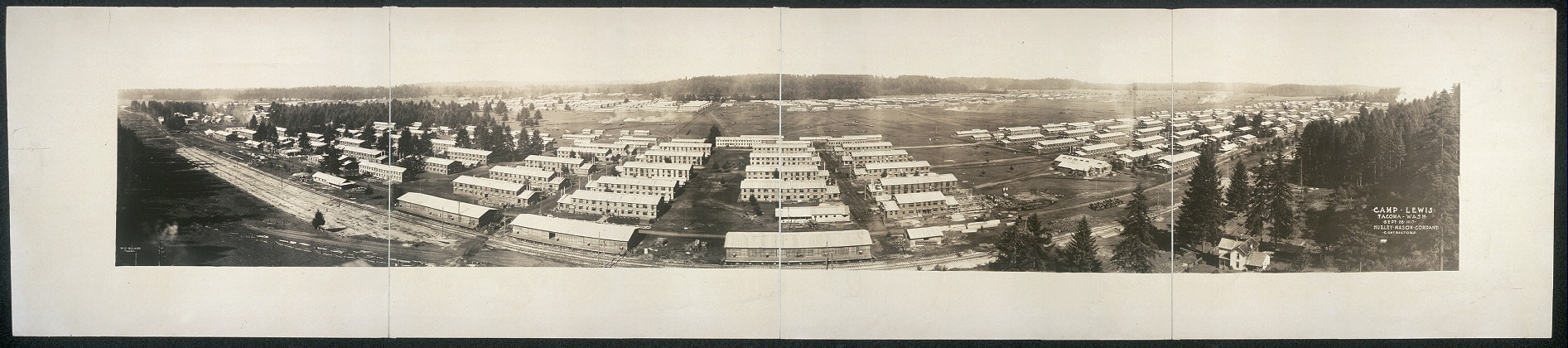 Camp Lewis, Tacoma, Wash., Sept. 28, 1917