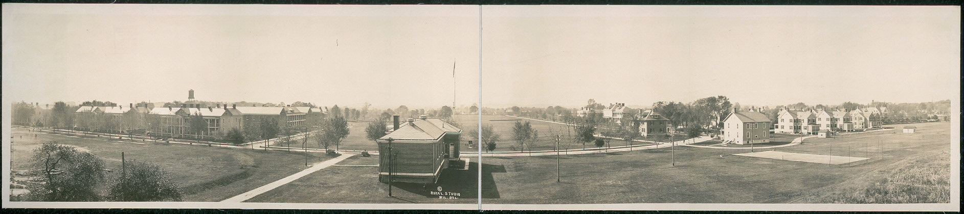 [Bird's-eye view of Fort DuPont, Del.]