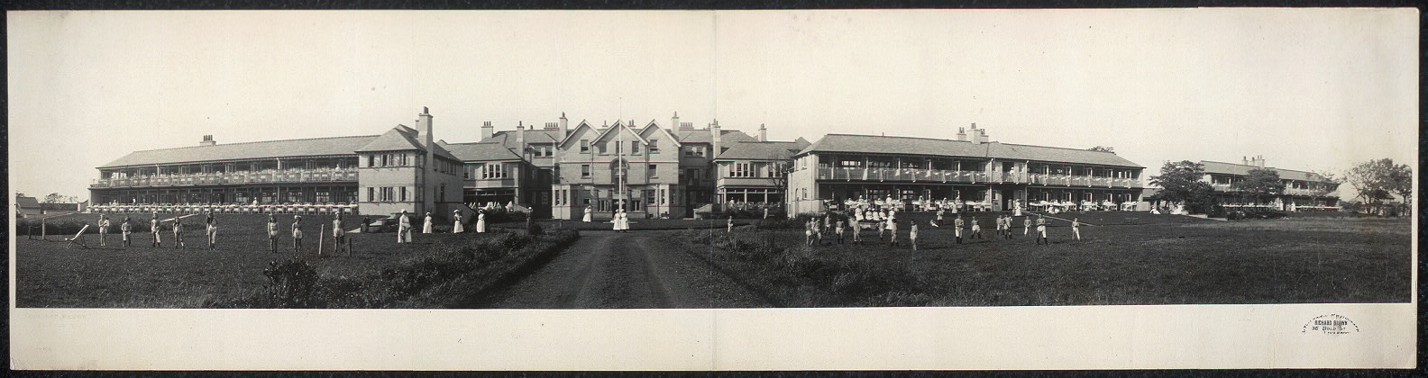 Open air Tuberculosis wards, Liverpool, Leasowe, England