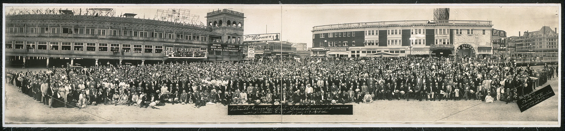 Sixteenth Convention, Anti-Saloon League of America at Atlantic City, N.J., July 6-9, 1915