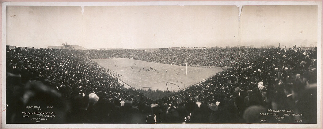 Harvard vs. Yale, Yale field, New Haven, Conn., Nov. 21, 1908