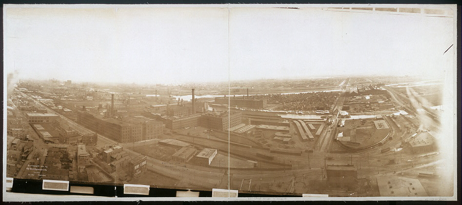 Bird's eye view, McCormick Plant, Chicago, Ill.