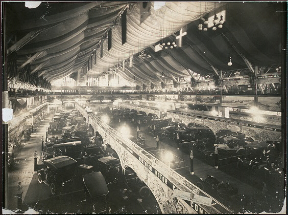 Automobile [sh]ow, Coliseum, Chicago, Dec. 3, 1907