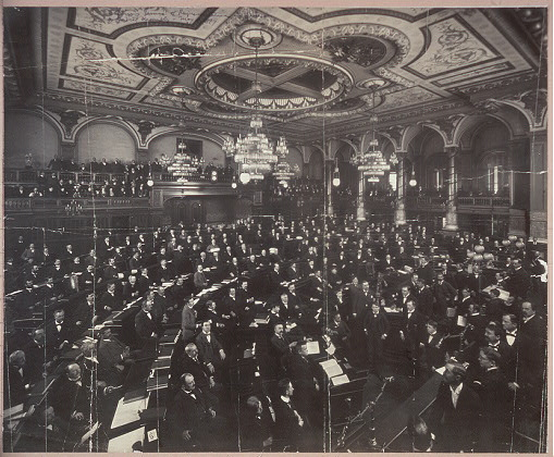 Illinois House of Representatives in session, 40 General Assembly, May 4, 1897