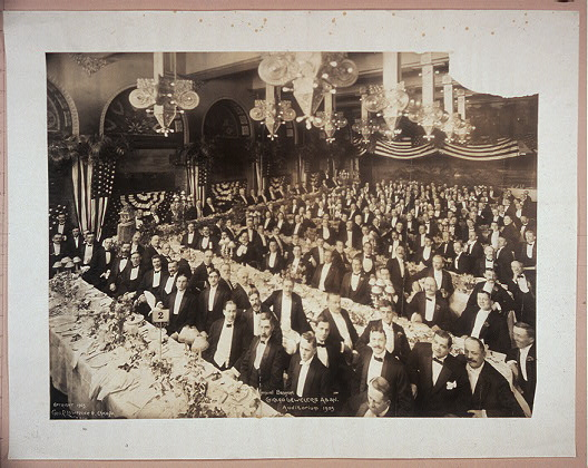Annual Banquet, Chicago [J]ewelers Assn., Auditorium, 1905