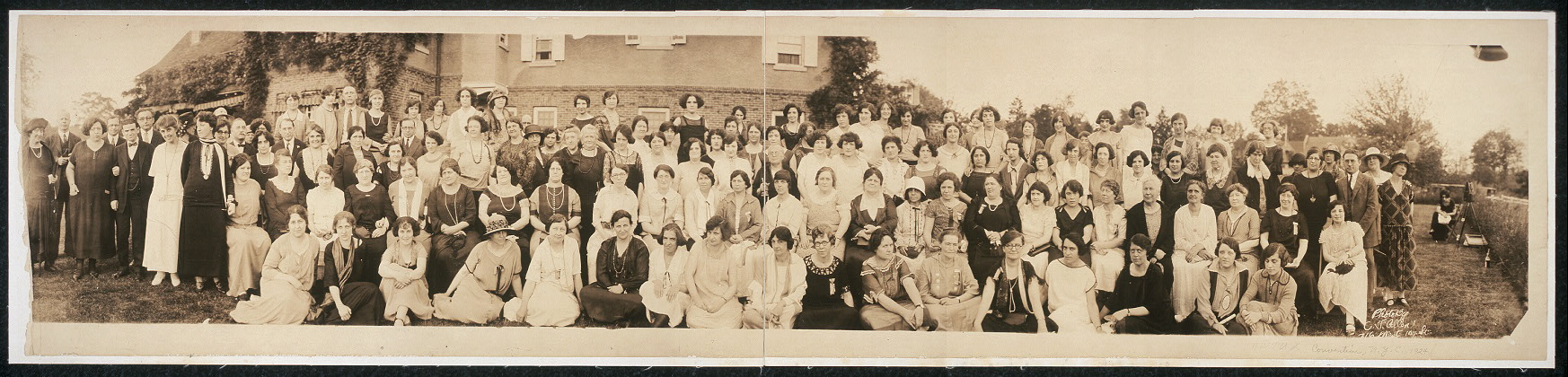 NWTUL Convention, N.Y.C., 1924