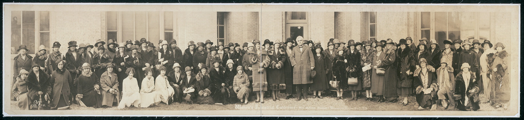Women's Industrial Conference, New National Museum, Washington, D.C., Jan. 18 to 21, 1926