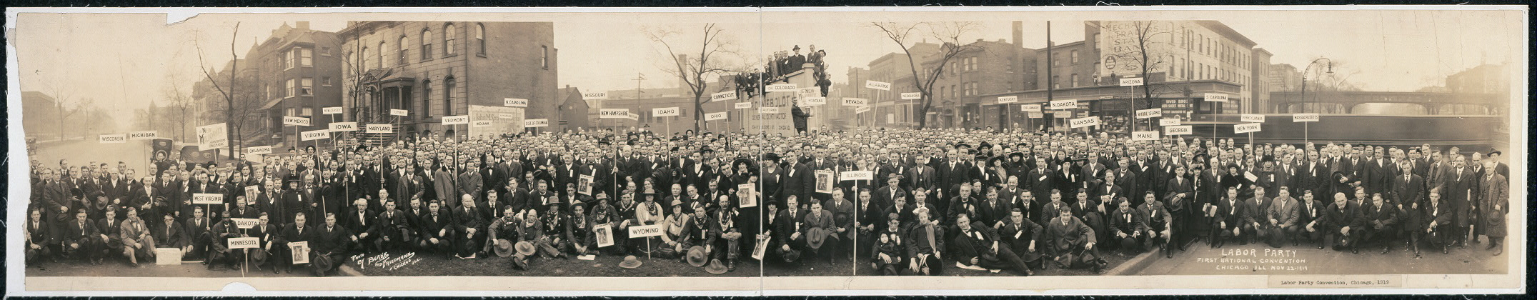 Labor Party, First National Covention, Chicago, Ill., Nov. 22, 1919