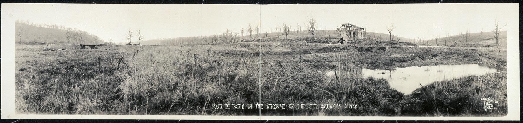 Four de Paris in the Argonne, on the left American lines