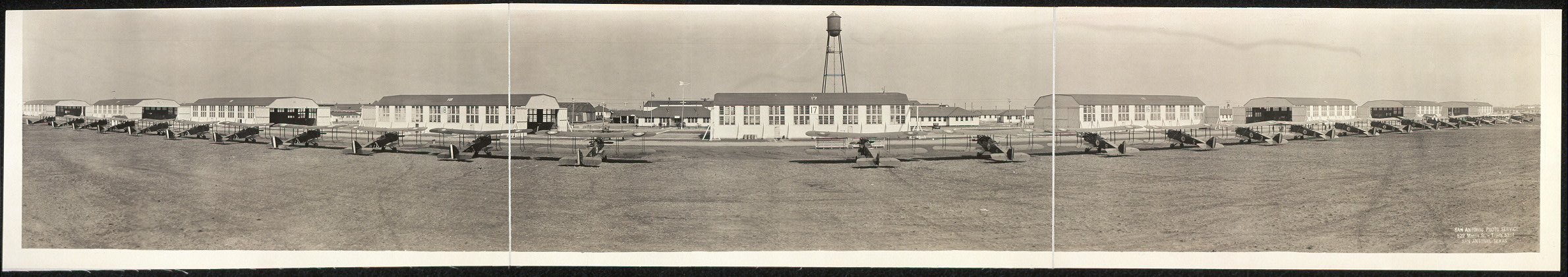 [Airfield near San Antonio]