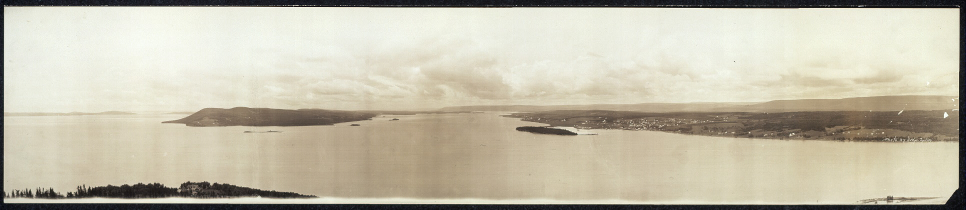 [Bras d'Or Lake, Baddeck and Beinn Bhreagh, Nova Scotia]