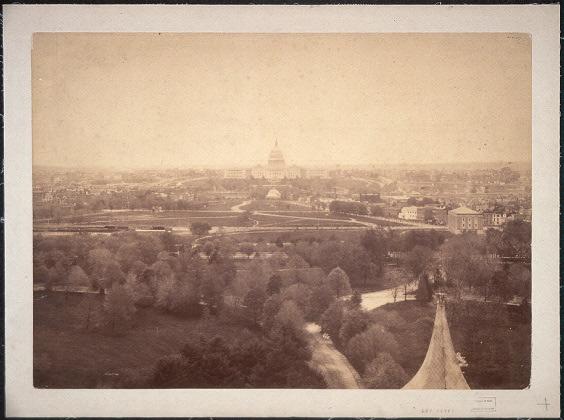 Panoramic view of Washington, D.C.