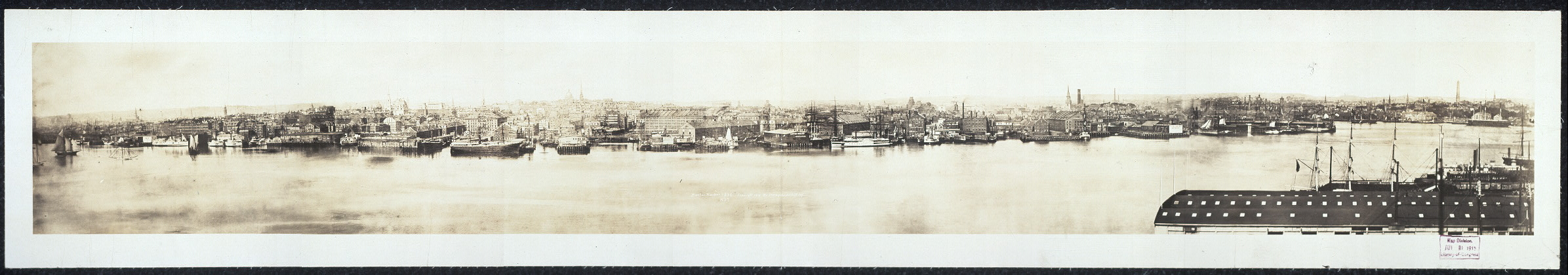 Boston Harbor, 1876