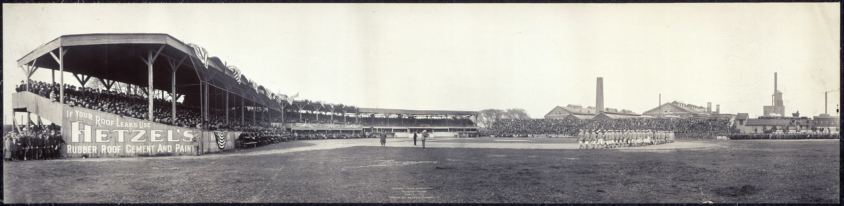 Eastern League opening game, Rochester - Newark, April 21, 1910