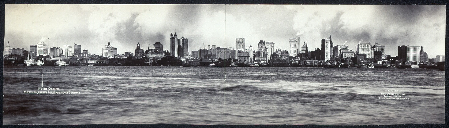 1902 M, New York skyline