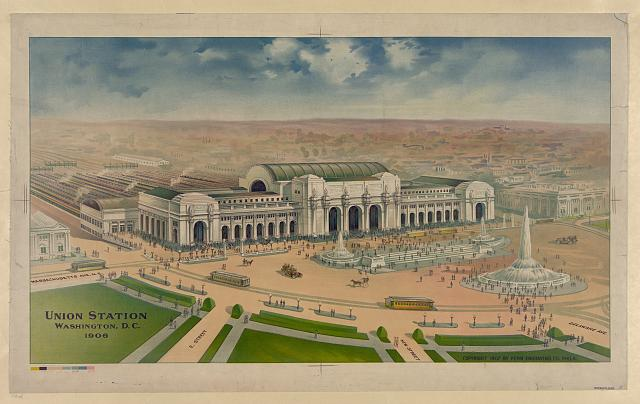 Union Station Washington, D.C. 1906