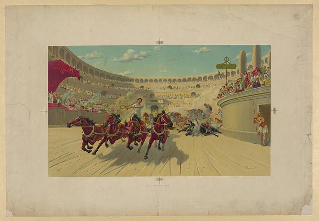 The Ben Hur chariot race