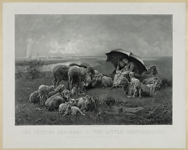 The little shepherdesses