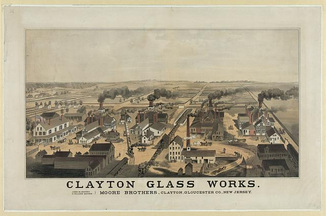 Clayton glass works