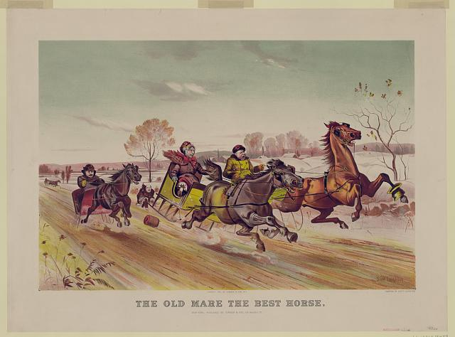 The old mare--The best horse