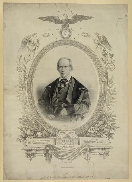 Henry Clay in his last days