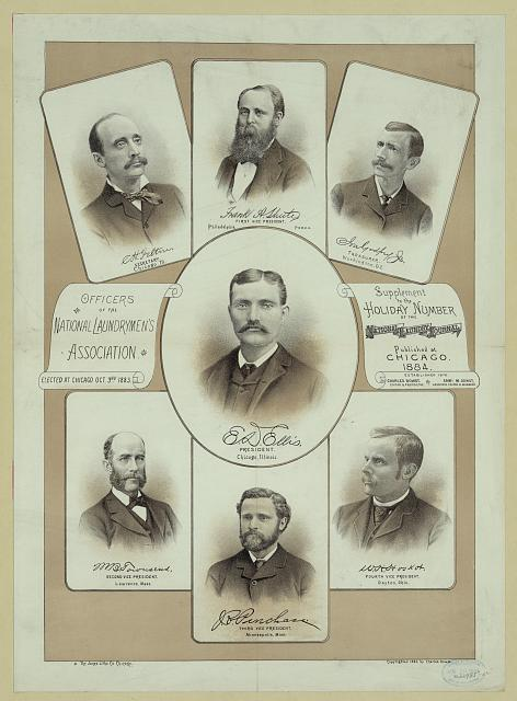Officers of the National Laundrymen's Association