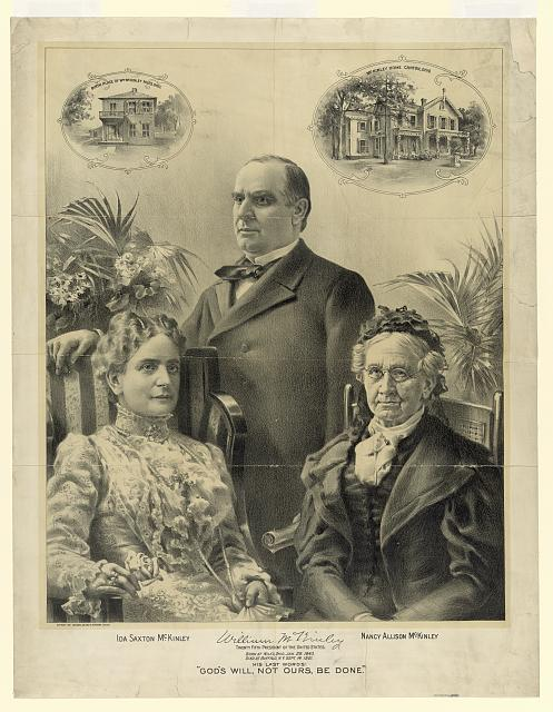 [William McKinley and family]