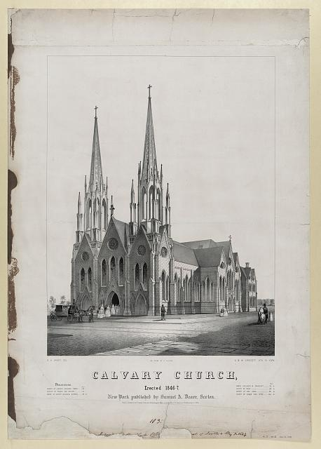 Calvary Church, erected 1846-7