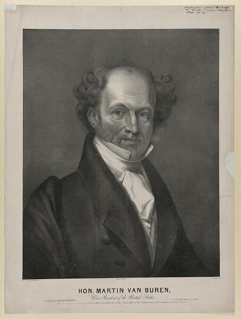 Hon. Martin Van Buren, Vice President of the United States