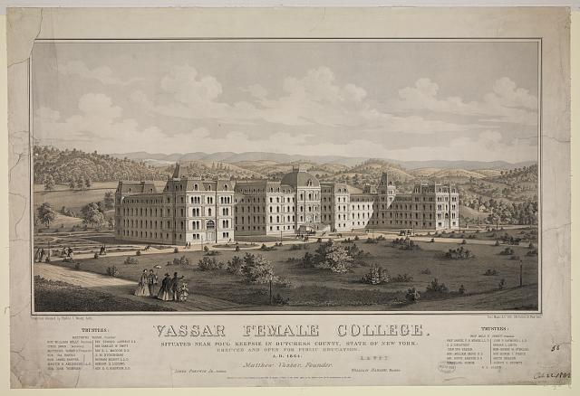 Vassar female college, egidius