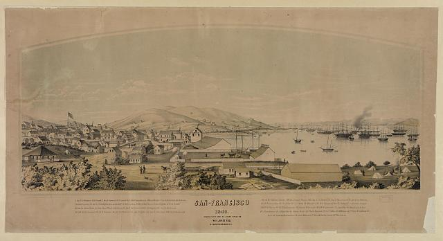 San-Francisco, 1849