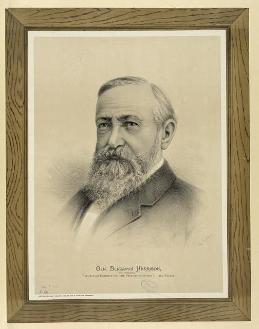 Gen. Benjamin Harrison, of Indiana