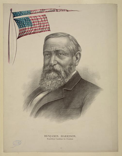 Benjamin Harrison, Republican candidate for president