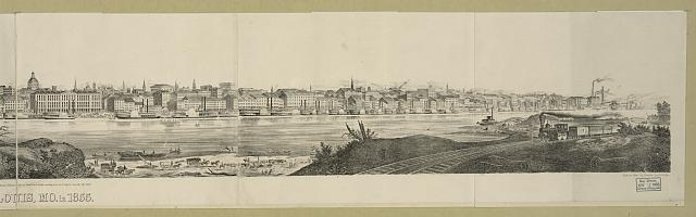 Saint Louis, MO. in 1855