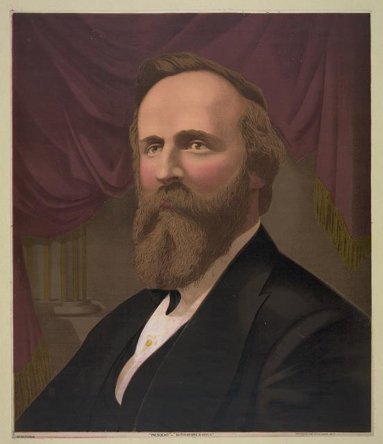 """President""--""Rutherford B. Hayes"""