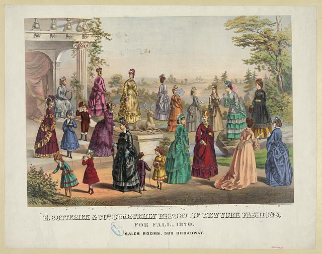 E. Butterick & Co.'s quarterly report of New York fashions, for fall, 1870.